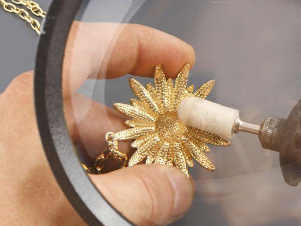 Как сделать чтобы золото блестело и
